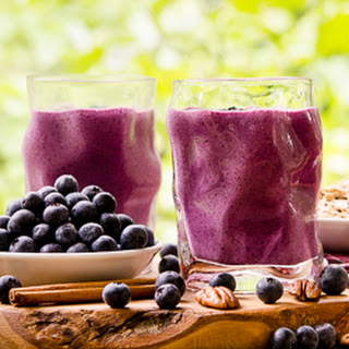 Blueberry Crumble Pie Smoothie