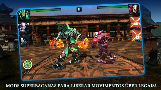 Ultimate Robot Fighting Screenshot