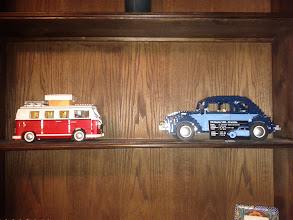 Photo: shelf display with other VW model