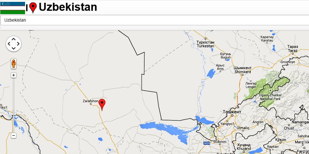 Uzbekistan Map Android Apps On Google Play - Uzbekistan map