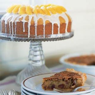 Pumpkin Cake with Cream Cheese Glaze.