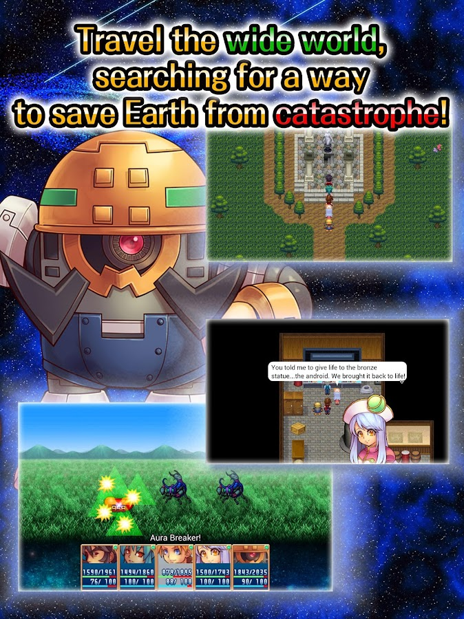 RPG Link of Hearts - KEMCO- screenshot