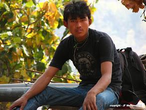 Photo: Prakash, Notre second Porteur
