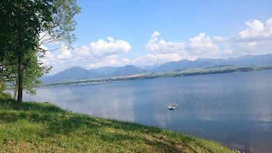 Photo: lake liptovska mara