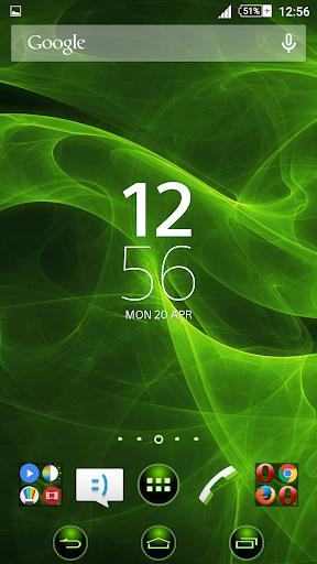 Green Smoke Xperien Theme