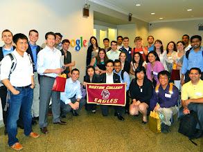 Photo: BC at Google NYC