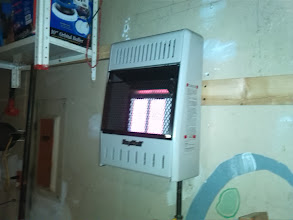 Photo: New Gas ceramic space heater in garage in Valley Stream, N.Y. These little units pump out some great heat! Awesome for workshops and garage workspaces.