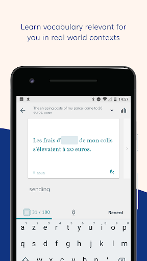 Lingvist: learn a language u2013 fast 2.22.7 screenshots 1