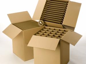 cartons spécifiques verres et assiettes