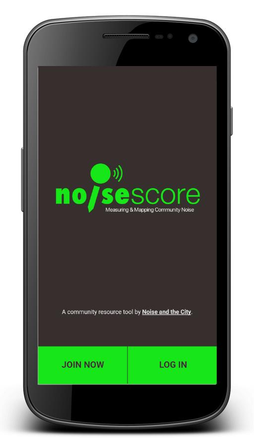 NoiseScore- screenshot