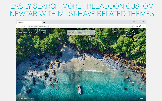 Island Wallpaper HD Islands New Tab