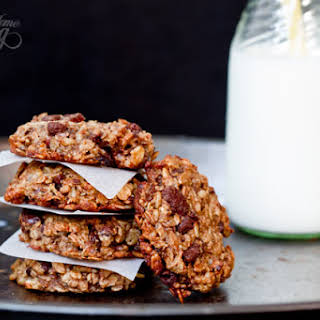 Oatmeal Banana Chocolate Breakfast Cookies.