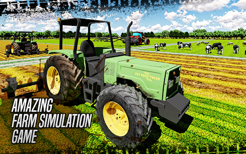 Real 3D Farming Tractor: Goods Transport Simulator - náhled