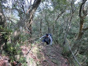 Photo: 胖子爬山比一般人還辛苦些,還好我樂在其中
