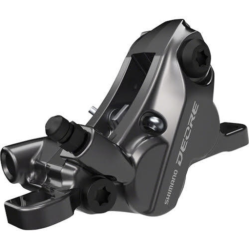 Shimano Deore BR-M6120 Disc Brake Caliper - Front or Rear, Hydraulic, Resin Pads