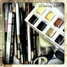 Photo: Gratitude for tools to make art.