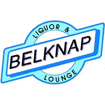 Logo for The Belknap's famous Halloween Party