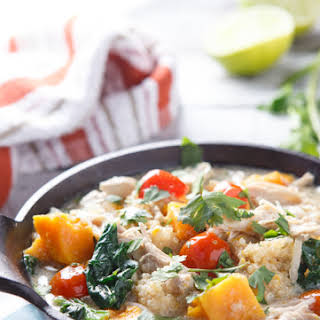 Thai Chicken Coconut Stew.