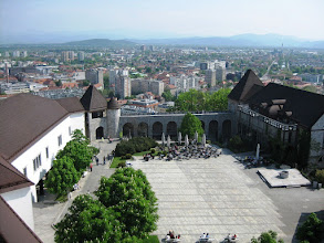 Photo: Ljubljana Castle linnanpiha