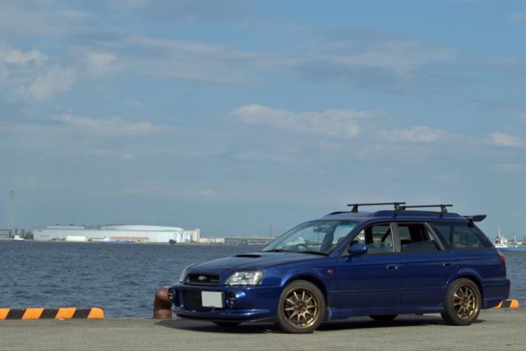 レガシィツーリングワゴン BH5の稲永埠頭,トミーカイラ,レガシィBE BHに関するカスタム&メンテナンスの投稿画像1枚目