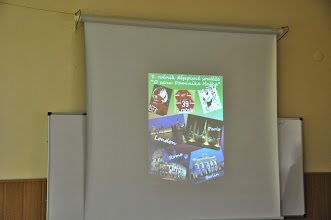 """Photo: Finále 7. ročníku dějepisné soutěže """"O cenu Dominika Haška"""" (učebna výtvarné výchovy, středa 16. duben 2014)."""