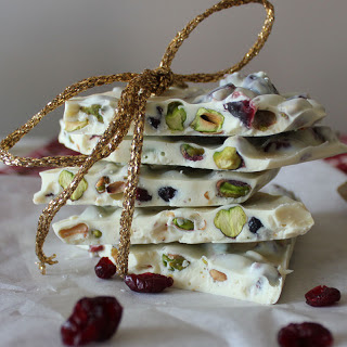 Cranberry Pistachio Bark.
