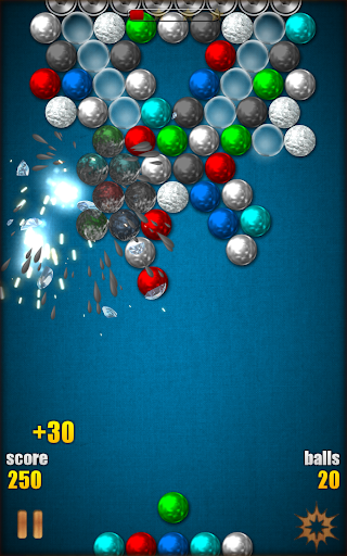 Magnetic Balls HD Free: Match 3 Physics Puzzle 2.2.0.9 screenshots 20
