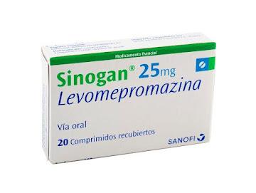 Sinogan 25Mg Comprimidos   Caja x20Com. Sanofi Levomepromazina