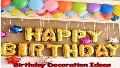 Birthday Decoration Ideas for PC