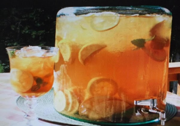 Cinnamon & Lemon Lime Tea Recipe