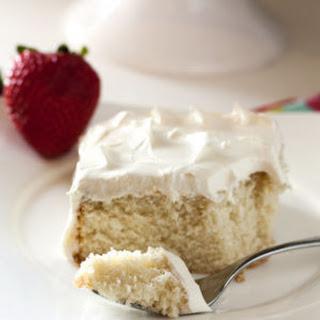 Emergency White Cake