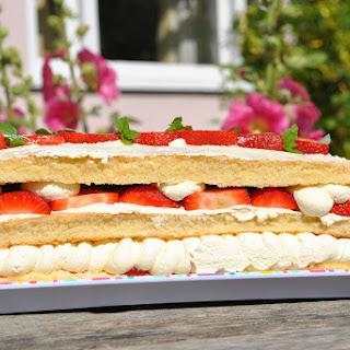 Wimbledon Inspired Cake