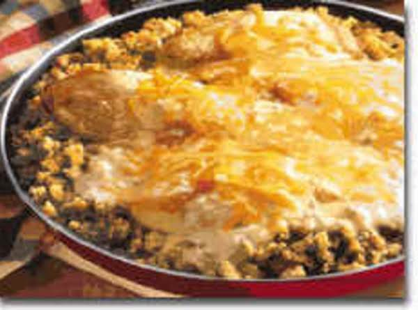 Chicken & Stuffing Skillet Recipe
