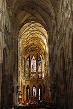 Photo: one of many cathedrals visited in Central Europe; this one is a Gothic behemoth in Prague