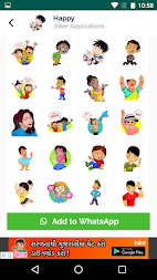 Stickers for WhatsApp - WAStickerApps APK screenshot thumbnail 2