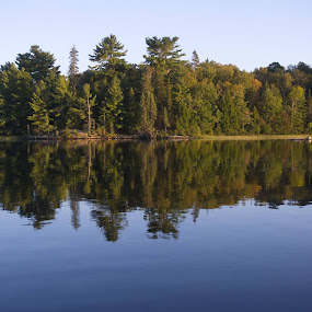 Reflection by Donna Davis Kasubeck - Landscapes Waterscapes (  )