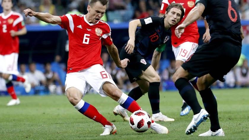 Croacia deja fuera de su Mundial a Rusia desde el punto de penalti
