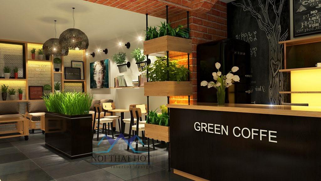 thiết kế quán cafe đẹp nhất Hà Nội