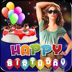 Molduras de aniversário - Photo Editor icon