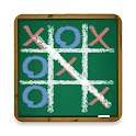 Chalk Tic Tac Toe Free icon
