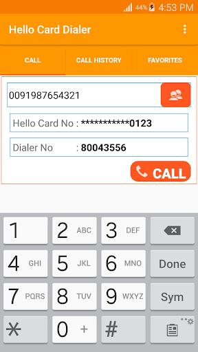 Hello Card Dialer screenshots 4