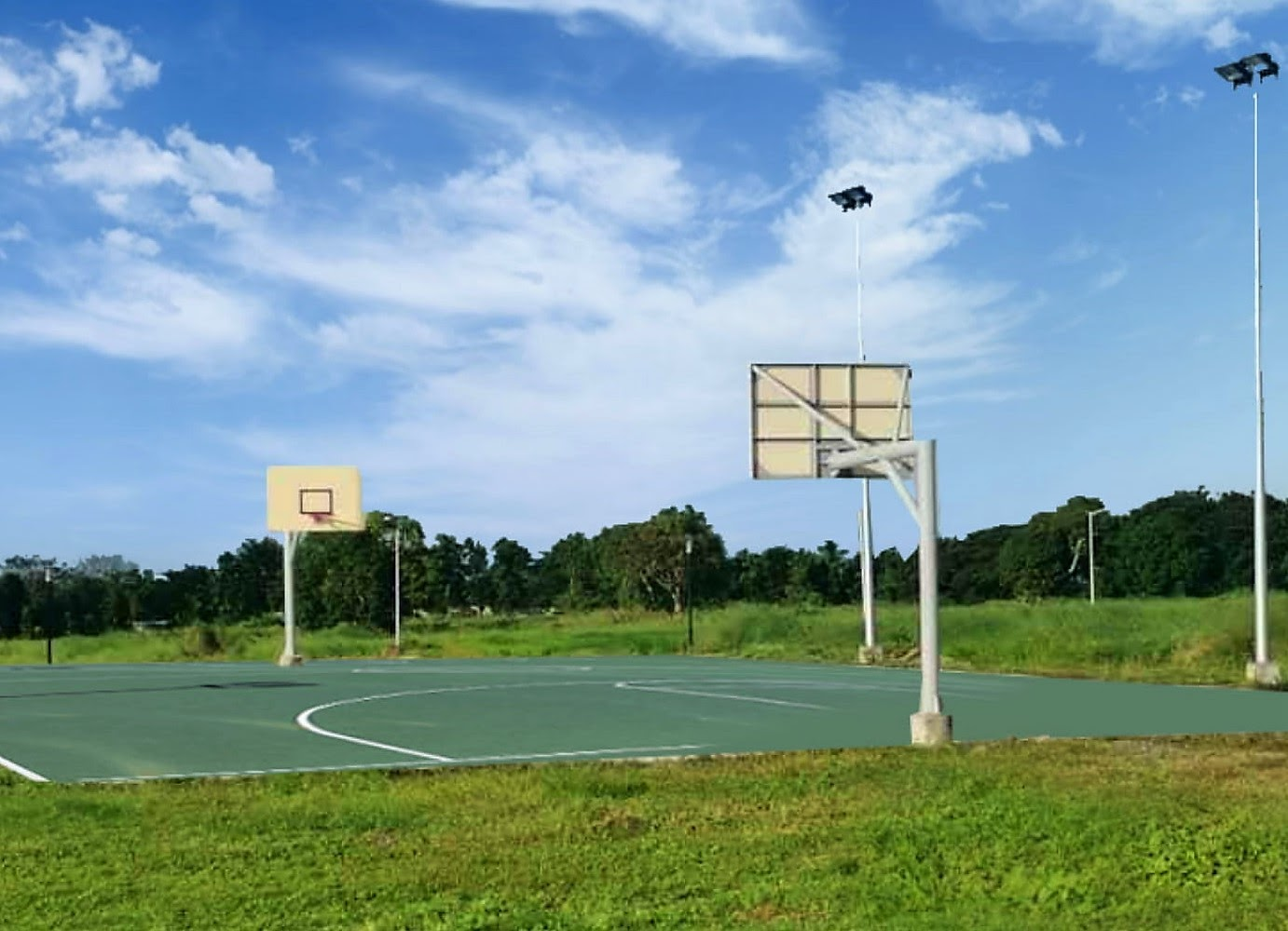 Fern Parc, Metrogate Silang Estates actual photo of the basketball court