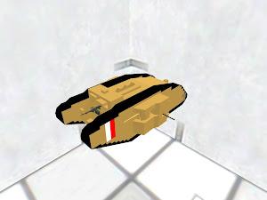 Mk 1 WW1 British tank