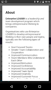 EnterpriseLEADER: Full Program- screenshot thumbnail