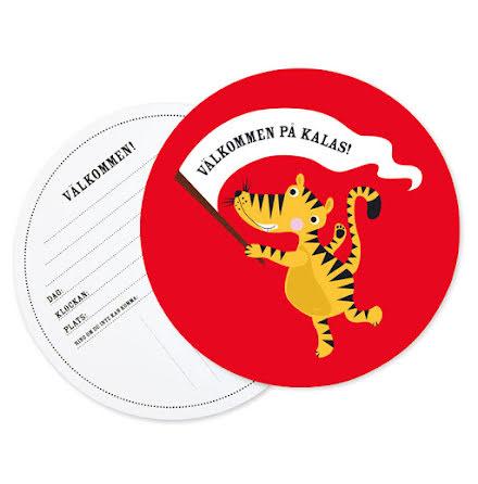 Kalasinbjudningar - Tiger