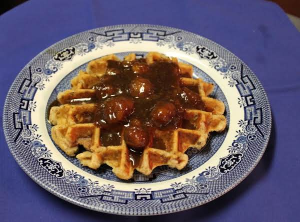 All Shook Up Waffles Recipe