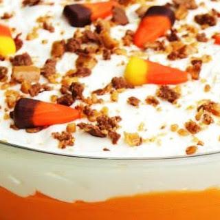 Halloween Brownie Trifle.