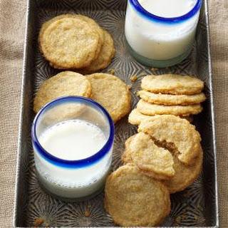 Buttery Orange Sugar Cookies Recipe