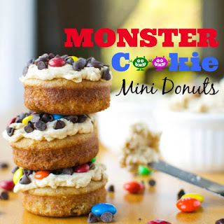 Monster Cookie Mini Donuts Recipe