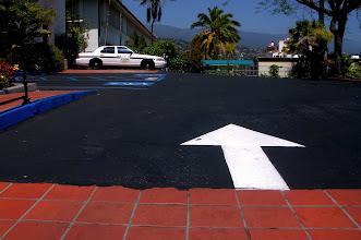 Photo: Asphalt Parking Lot Security Santa Barbara